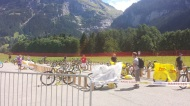 MTB Wechselzone in Grindelwald