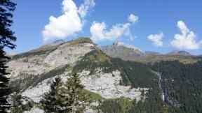 Schilthorn und Birg vom gegenüberliegendem Berg