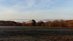 Das ganze Moseltal im Nebel