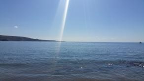 Am Strand ... baden im Meer ... herrlich