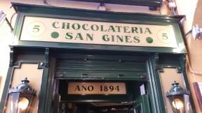 Die Schokolade hier drin ist ein Traum