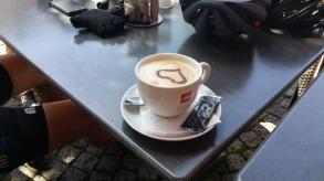 Kaffee mit Herz :-)
