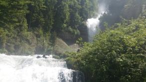 Die Wasserfälle sind toll.