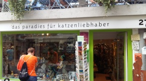Ein Laden nur für Katzenfreunde