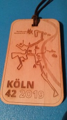 Medaille aus Holz