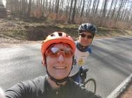 Endlich wieder Rennradtouren mit Bergziege Frank