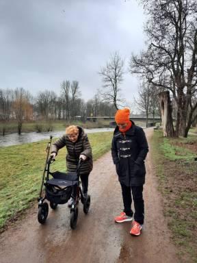 Besuch bei der Mama und der Familie in Sachsen. Ein Geburtstagsgeschenk an mich selbst
